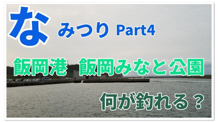 【なみつり】飯岡港・飯岡みなと公園で釣り!!何が釣れる!?