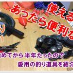 【なみつり】釣り道具は何を使っている?あったら便利なモノ!