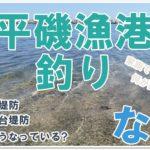 【なみつり】平磯漁港釣り!海水浴場の隣の漁港は何が釣れる?